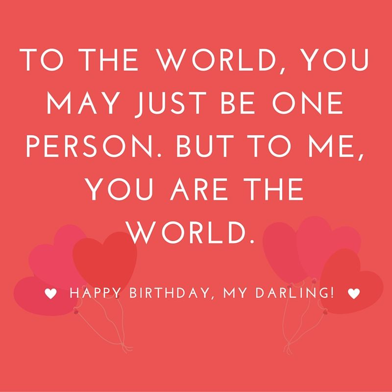 Inspirational Love Messages For Girlfriend: Happy Birthday Quotes For Friends, Girlfriend, Birthday