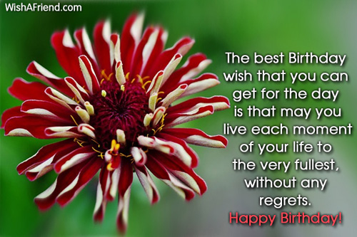 Birthday SMS for Friends