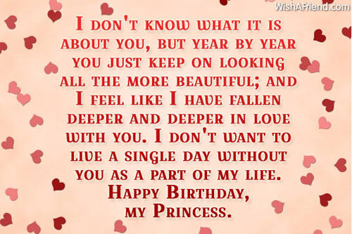 Happy birthday for my girlfriend quotes