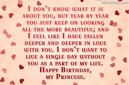 best birthday letter for girlfriend