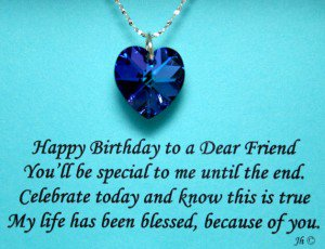 happy birthday to you my friend poem